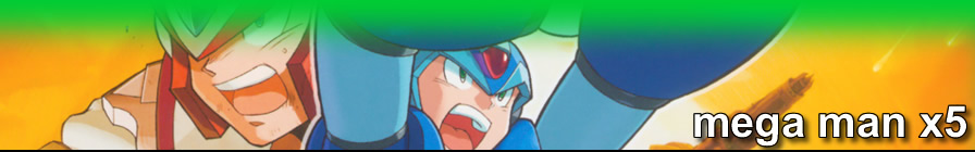 Mega Man X5 // random access